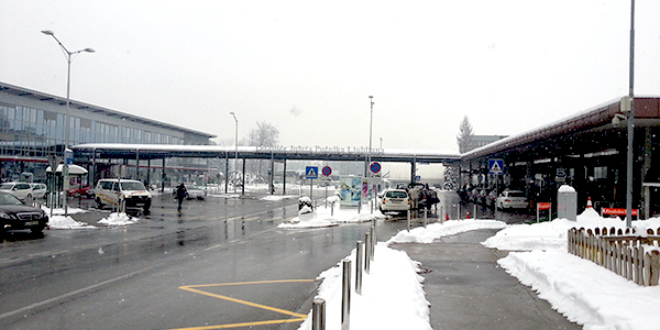 Ljubljana airport parking